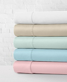 Cotton Percale 300 Thread Count 4-Piece Sheet Sets