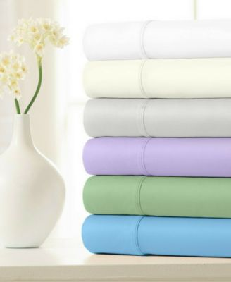 100% Cotton Sateen 500 Thread Count 4-Piece Sheet Set - Full