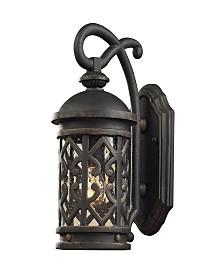 Tuscany Coast Collection Lantern 1-Light Sconce