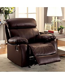 Benzara Leatherette Recliner Chair