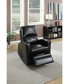 Benzara Swivel Recliner Chair