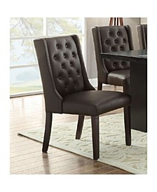Button Tufted Royal Dining Chair, Set of 2