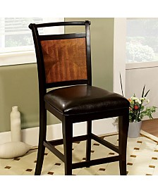 Benzara Transitional Style Counter Height Chair with Seat