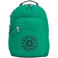 Kipling New Classics Medium Seoul Backpack (Lively Green/Silver)