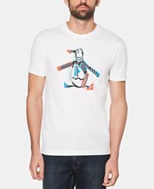 Original Penguin Men's Stars N Stripes Pete Logo Graphic T-Shirt