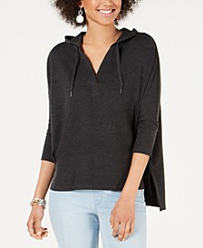 Hoodie 3/4-Sleeve Top, Created for Macy's