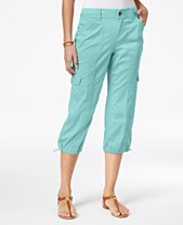 3515e0b71c Style & Co Petite Cargo Capri Pants, Created for Macy's