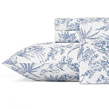 Tommy Bahama Pen and Ink Palm Full Sheet Set