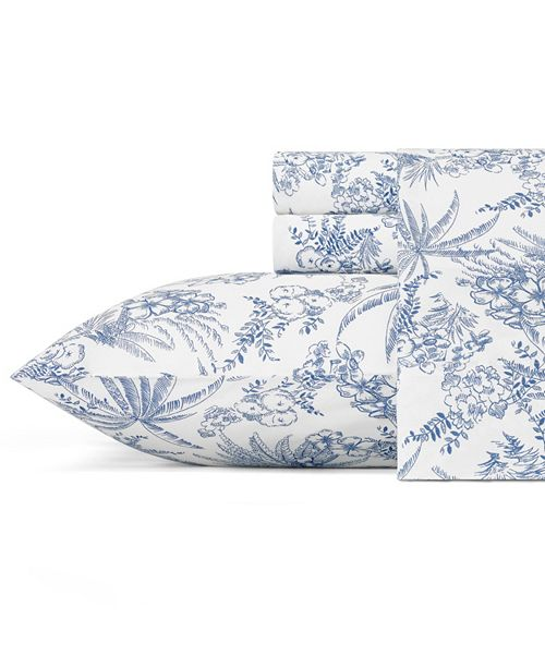 Tommy Bahama Home Tommy Bahama Pen and Ink Palm Standard Pillowcase Pair
