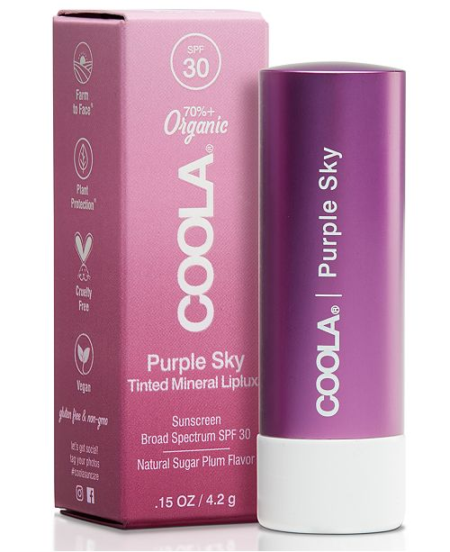 COOLA Purple Sky Mineral Liplux SPF 30, 0.15-oz.