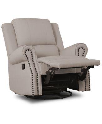 Dylan Nursery Recliner Glider Swivel Chair, Quick Ship