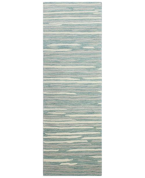 "BB Rugs Downtown HG363 2'6"" x 8' Runner Area Rug"