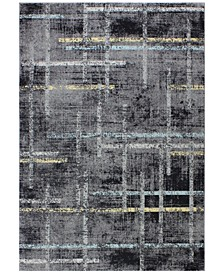 "Medley 5337A Gray 3'6"" x 5'6"" Area Rug"