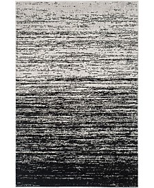 Safavieh Adirondack Silver and Black 4' x 6' Area Rug