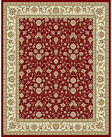 Safavieh Lyndhurst Red and Ivory 12' x 18' Area Rug