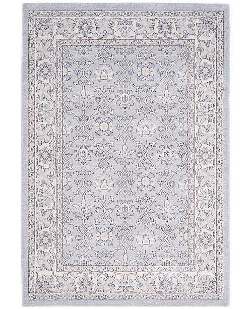 Safavieh Carmel Light Blue and Ivory 4' x 6' Area Rug