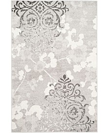 Adirondack 114 Silver and Ivory Area Rug Collection