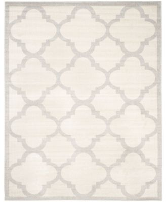 Amherst Beige and Light Gray 9' x 9' Square Area Rug