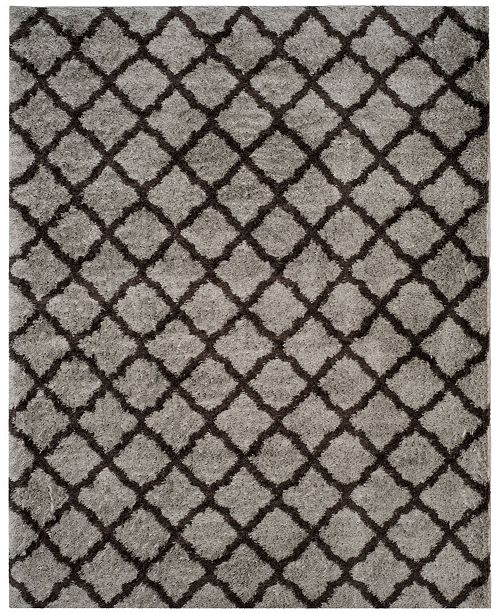 Safavieh Indie Gray and Dark Gray 8' x 10' Area Rug