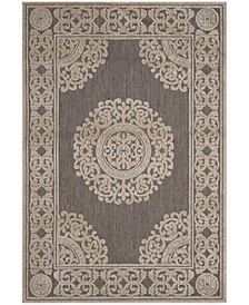 "Cottage Taupe 6'7"" x 9'6"" Area Rug"