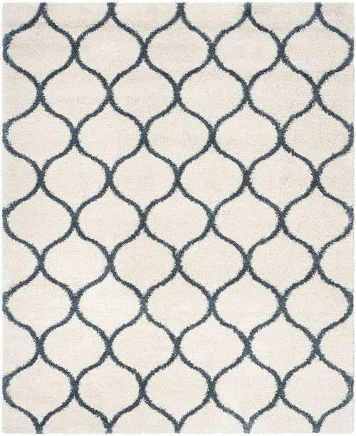 Safavieh Hudson Ivory and Slate Blue 8' x 10' Area Rug