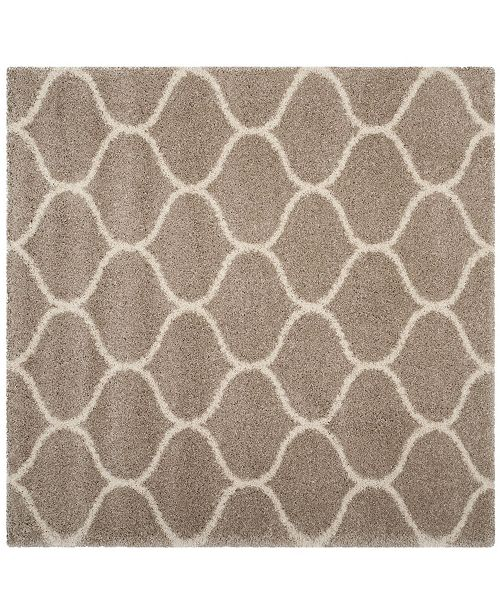 Safavieh Hudson Beige and Ivory 7' x 7' Square Area Rug