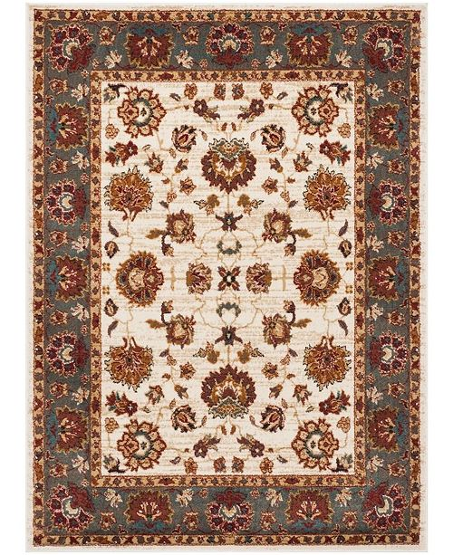 Safavieh Summit Ivory and Gray 4' x 6' Area Rug