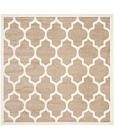 Amherst Wheat and Beige 5' x 5' Square Area Rug