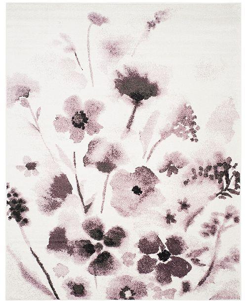 Safavieh Adirondack Ivory and Purple 6' x 9' Area Rug