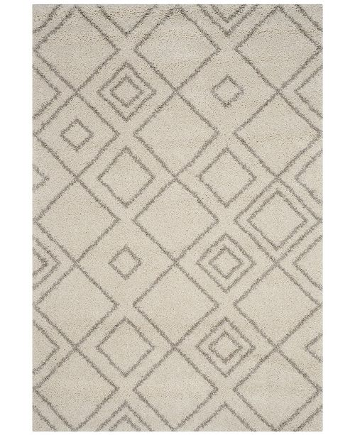 Safavieh Arizona Shag Ivory and Beige 10' x 14' Area Rug