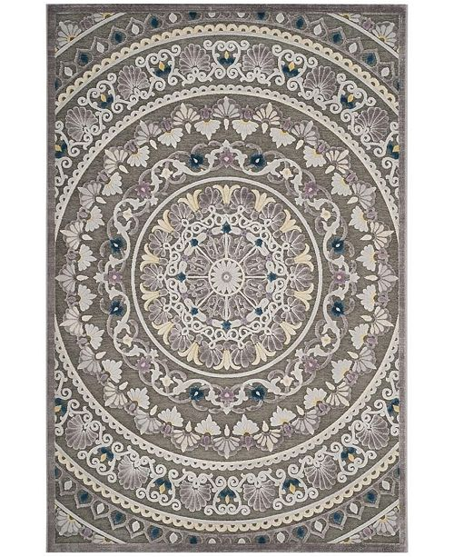Safavieh Paradise Gray and Light Gray 6' x 9' Area Rug
