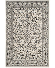 Serenity Ivory and Blue 8' x 10' Area Rug