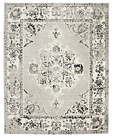 Skyler Gray and Ivory 9' x 12' Area Rug
