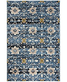 Safavieh Amsterdam 113 Blue and Creme Area Rug Collection