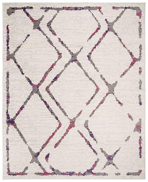 Safavieh Skyler Ivory and Pink 8' x 10' Area Rug