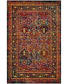 Cherokee Red and Black 4' x 6' Area Rug