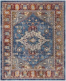 Safavieh Harmony Blue and Rose 11' x 16' Sisal Weave Rectangle Area Rug
