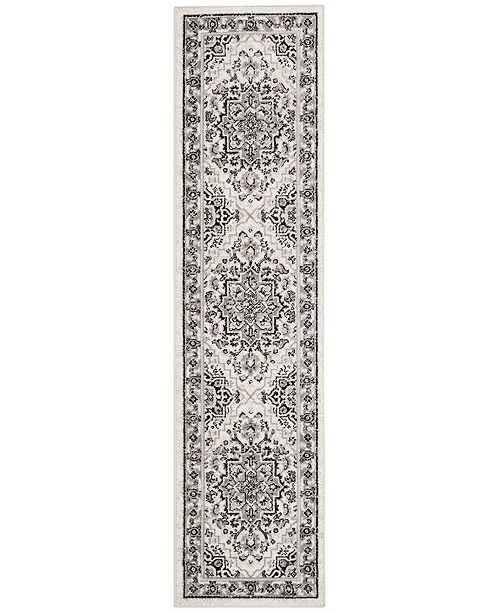Safavieh Skyler Grey and Ivory 2' x 6' Runner Area Rug