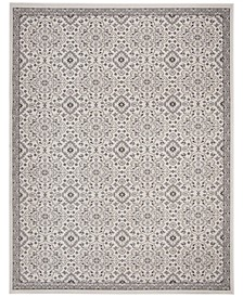 Montage Ivory and Gray 3' x 5' Area Rug