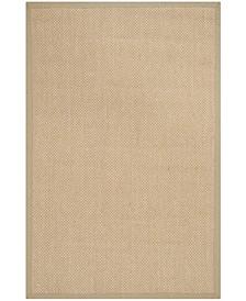 Natural Fiber Maize and Linen 5' x 8' Sisal Weave Rug
