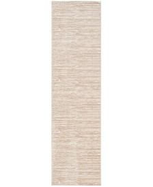 """Vision Creme 2'2"""" x 12' Runner Area Rug"""
