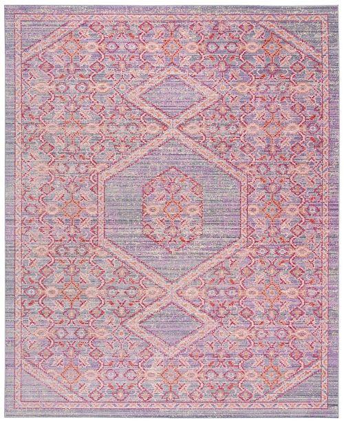 Safavieh Windsor Lavender and Fuchsia 8' x 10' Area Rug