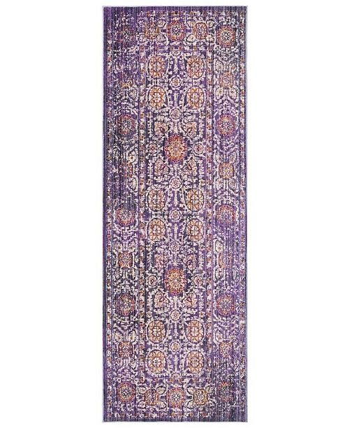 Safavieh Sutton Lavender and Ivory 3' x 8' Area Rug