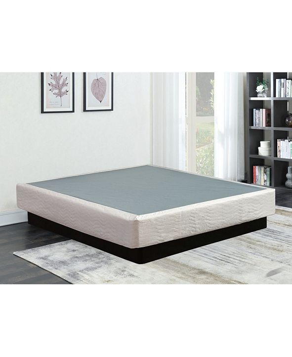 "Payton 8"" Assembled Wood Box Spring/Foundation for Mattress, King"