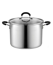 8 Quart Stainless Steel Stockpot Saucepot with Lid