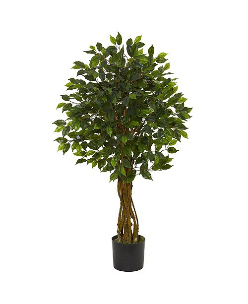 Nearly Natural Ficus Artificial Tree UV Resistant
