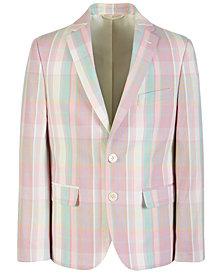 Lauren Ralph Lauren Big Boys Classic-Fit Plaid Sport Coat
