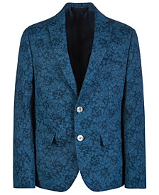 Big Boys Classic-Fit Printed Linen Sport Coat