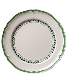 French Garden Green Lines Bread & Butter Plate