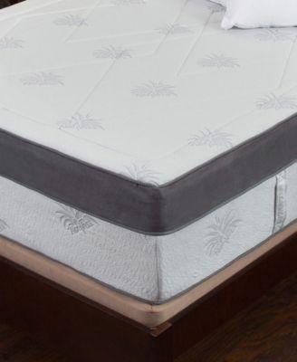 """Aloe 15"""" Medium Firm Mattress - Queen, Mattress in a Box"""
